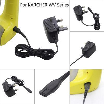 Karcher Ventana Aspiradora WV60 Reemplazo Batería Cargador Power Supply WV.