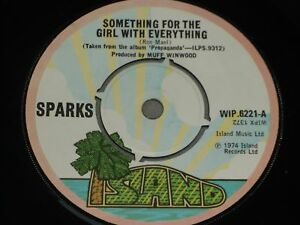 Sparks-Something-for-the-girl-with-everything-UK-7-034-EX