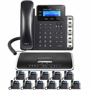 Business-IP-Phone-System-12-Grandstream-Bundle-With-Free-Phone-Service-1-Year
