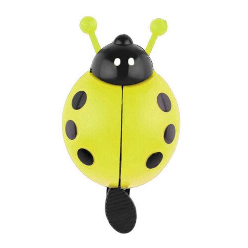 Novelty Childrens Bike Bell Bicycle Boys Girls Ladybird Bug Funny Design Popular
