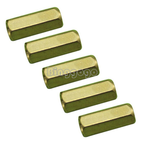 10//20//50PCS M3 12 mm Hexagonal net nut Female brass Standoff//Spacer