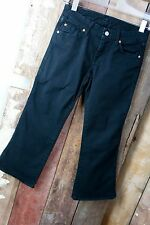 7 for all mankind Caprijeans * 3/4 Hose * Basic * Schwarz * W25 - Gr 34