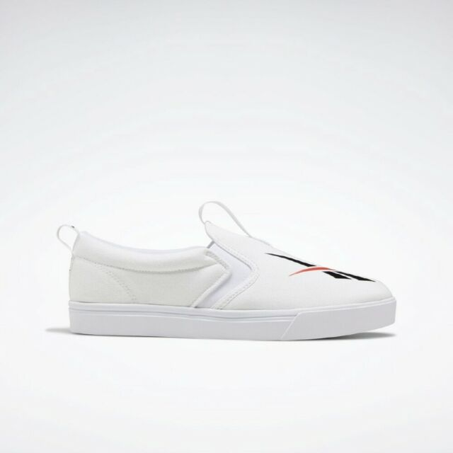 Details about  / Royal Slip on White Logo Point All Size Authentic Sneakers FX3417 Reebok