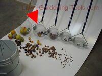 Medium Holt's Nut Wizard +dumper Picker Upper Pecans English Walnuts Golf Balls