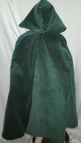 New Handmade Renaissance Child Hooded Cape//Cloak Size Extra Large Various Colors