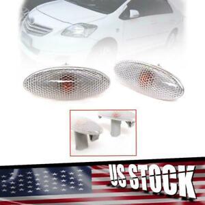 Side Marker Indicator Lamp Light Fit Toyota Vios Sedan