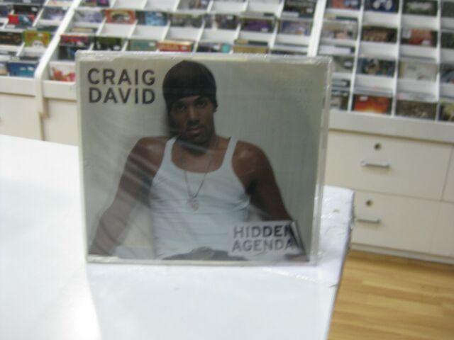 Craig David CD Single Germany Hidden Agenda