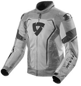 GIACCA-JACKET-TRAFORATA-ESTIVA-MOTO-REVIT-REV-039-IT-VERTEX-AIR-GRIGIO-NERO-TG-M