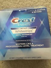 Crest 3D White Whitestrips Professional Effects Teeth WHITENING 40 strips