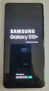 Unlocked Samsung Galaxy S10+ Plus SM-G975U 128GB Blue Phone - Read Description