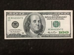 Image Is Loading 100 Dollars Bill Series  Older