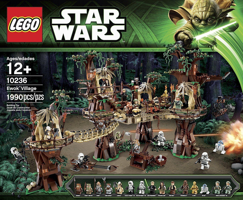 LEGO Star Wars Ewok Village 10236 - RETIrosso/SEALED