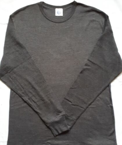New 2XL Kam Charcoal Grey Thermal Long Sleeve Top