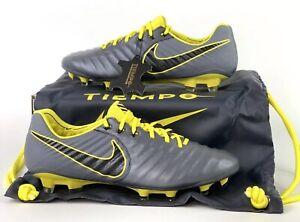 570729d51df05 Nike Tiempo Legend VII Elite FG Soccer Cleats Dark Grey AH7238-070 ...