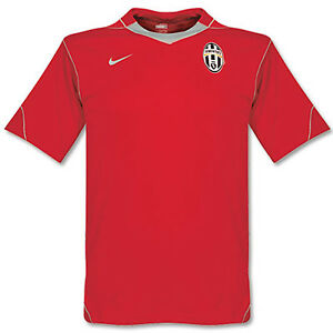 Nike-Juventus-Futbol-Entrenamiento-Previo-Partido-camiseta-roja-L