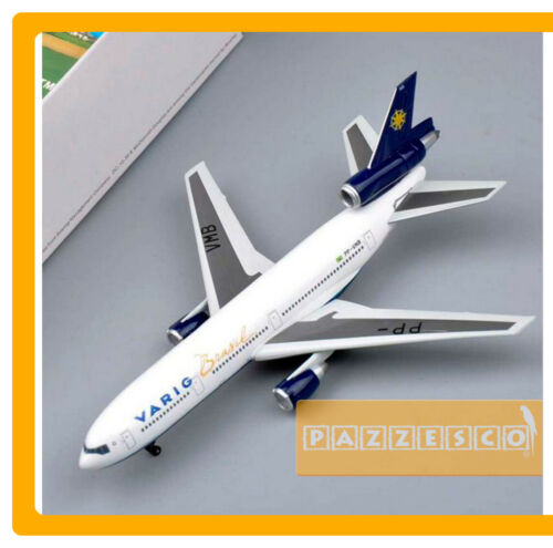 Airplane Varig Brasil DC 10 30  DRAGON WINGS PREMIERE COLLECTION 1:400 Rare
