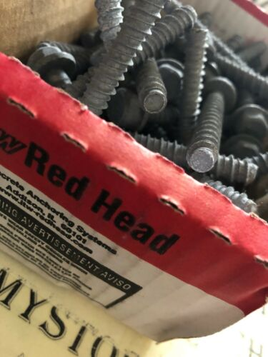 """NIB NEW RED HEAD LDT-3830 Concrete Anchors,Structural,Pk50 3//8X3/"""" made IN USA"""