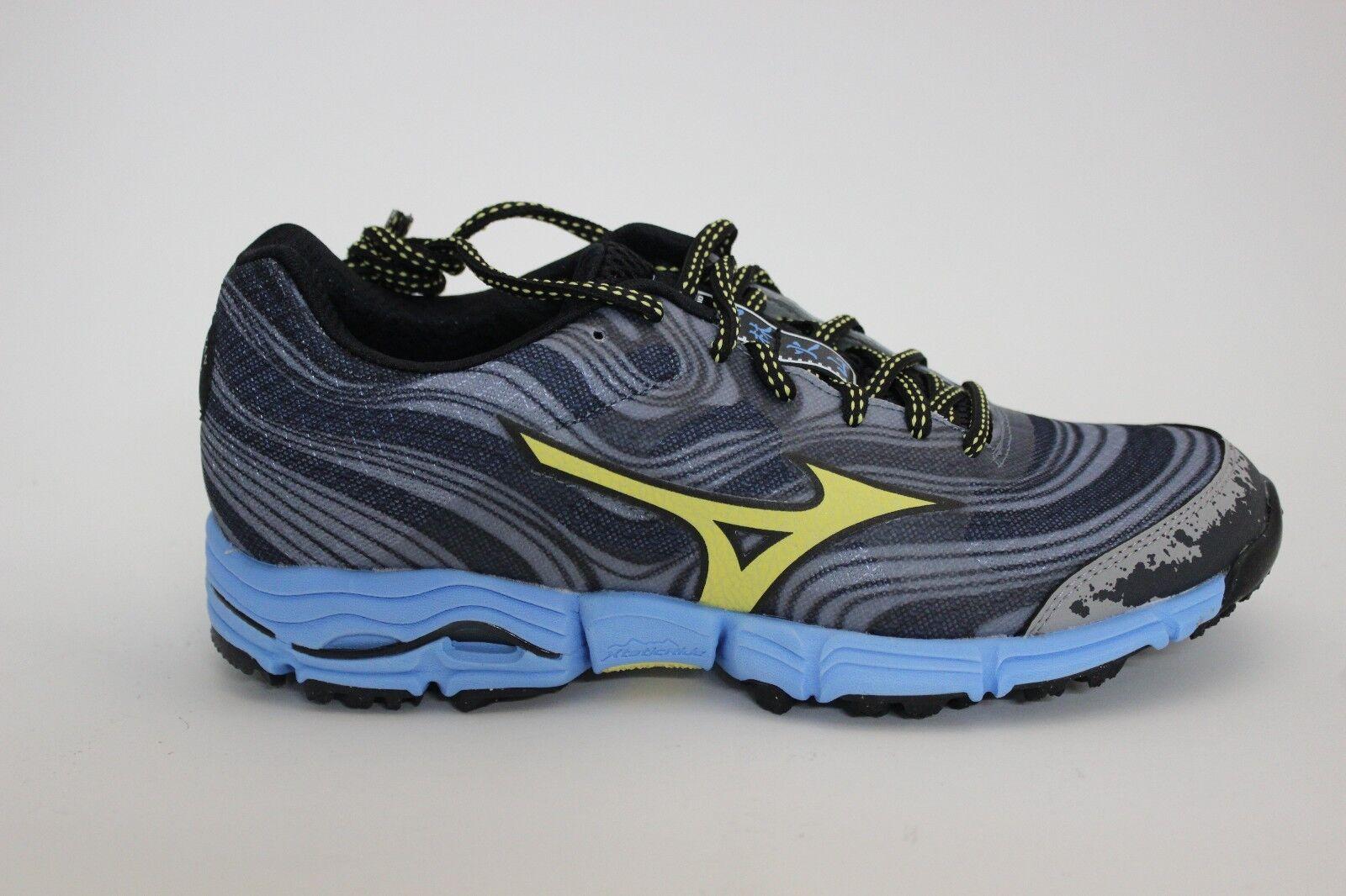 Para Mujer  Zapatillas Corriendo Mizuno Wave Kazan gris Amarillo Azul 410617.9931 Nuevo     envío gratis