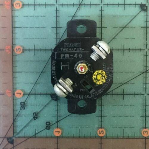 Klixon Flugzeuge Schutzschalter PM-40 Retro 40A 40 Verstärker NOS