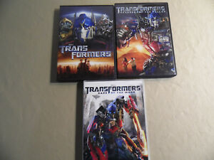 Transformers 1-3 (Used DVD Sale) Revenge of the Fallen / Dark of the Moon