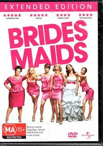 BRIDES-MAIDS-DVD-R4-2011-Extended-Edition-BRAND-NEW-amp-SEALED-FREE-POST