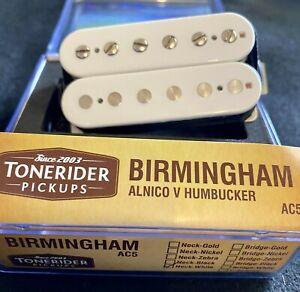 Tonerider Birmingham Neck Pickup - White