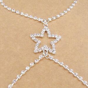 New-Women-Adjustable-Sexy-Shoulder-Bra-Back-Straps-Star-Crystal-Diamante-Wedding