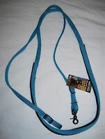 Weaver Contest/ Barrel Reins, Hurricane Blue Nylon, Free Shipping