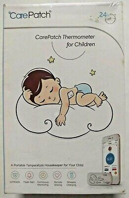 Baby Thermometers New Carepatch P02 Continuous Monitoring Wearable Smart Thermometer Wireless *d1 Packing Of Nominated Brand