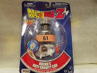 DRAGONBALL Z ~ Bulma/'s Anti-Gravity car ~ Capsule Corp ~ w// die cast parts ~NEW