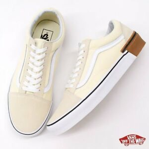 f68666e9820f1f Vans OLD SKOOL Classic White GUM BLOCK SKATE Shoes Size Men s 5.5 ...