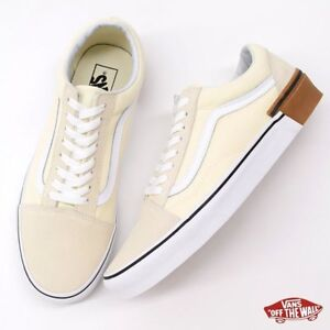 971e5bce9c Vans OLD SKOOL Classic White GUM BLOCK SKATE Shoes Size Men s 6 ...