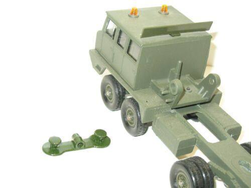 1 1 Stütze aus Metall für die Reifen von Hilfe Berliet T12 Tür Panzer Solido
