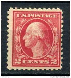 Image Is Loading RED LINE 2 CENT US USA WASHINGTON STAMP