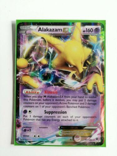 Alakazam EXPokemon XY Fates Collide 25//124 Holo Rare NM