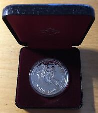 Canada 1983 Silver Dollar, KM-138, Proof, Edmonton University Games (Box5)