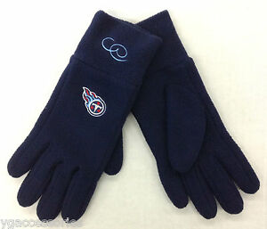 Image is loading NFL-Tennessee-Titans-Reebok-Womens-Winter-Fleece-Glove- 303e21417