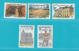 Belgien-aus-1991-postfrisch-MiNr-2462-2466-Tourismus