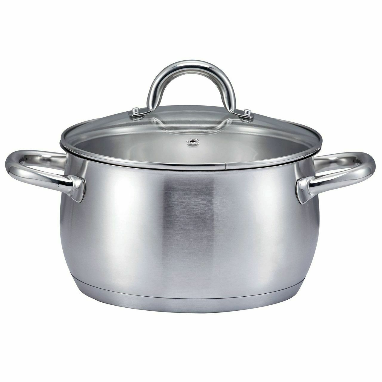 Ssw Kitchen Q pro plus Cooking Pot with Lid, Stainless Steel, Ø 20 cm, 3,6 L