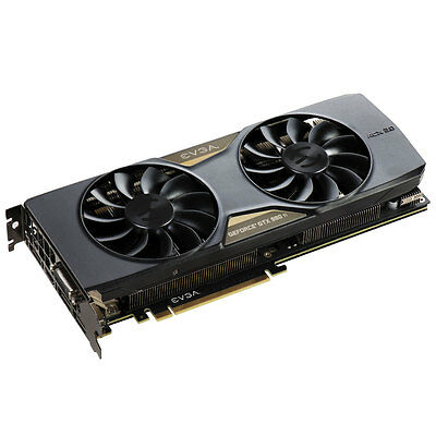 EVGA 06G-P4-4995-KR GeForce GTX 980 Ti 6GB 384-Bit GDDR5 SC w/ACX & Back Plate