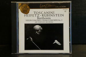 Beethoven-Violin-Concerto-Piano-Concerto-Heifetz-Rubinstein-Toscanini