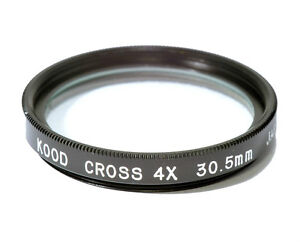 30-5mm-High-Quality-Glass-Kood-Star-4-Filter-Made-in-Japan-Starburst-x4-Filter