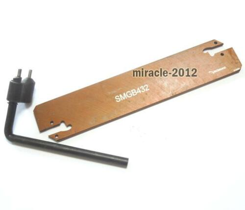 SMGB Double Grooving Blade Cutter Tool CNC Lathe For SMGB332 232 326 226 Plate