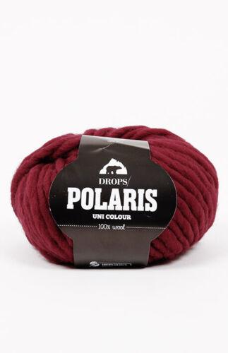Jumbo Drops POLARIS excellent for felting Super bulky 100/% Wool