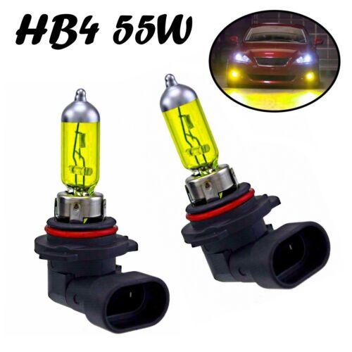 2x HB4 55W 12V P22d Jurmann Aqua Vision Ersatz Gelb Scheinwerfer Licht Birne