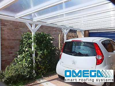 Aluminium Canopy Patio Cover Carport Caravan Cover 4 2m Wide X 3m Projection Ebay