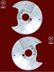 Ankerblech-Spritzblech-Hitzeschutzblech-Satz-hinten-Mazda-626-GE-GF-GW-Bj-91-02