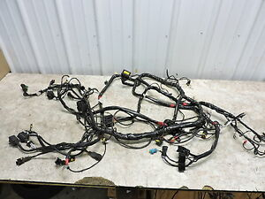 10 piaggio mp3 400 scooter vespa wire wiring harness loom ebay rh ebay ie Truck Wiring Harness Engine Wiring Harness