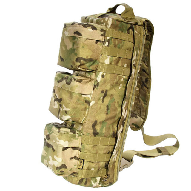 Flyye Tactical Shoulder Pack Military Go Bag Molle Airsoft Genuine Multicam Camo