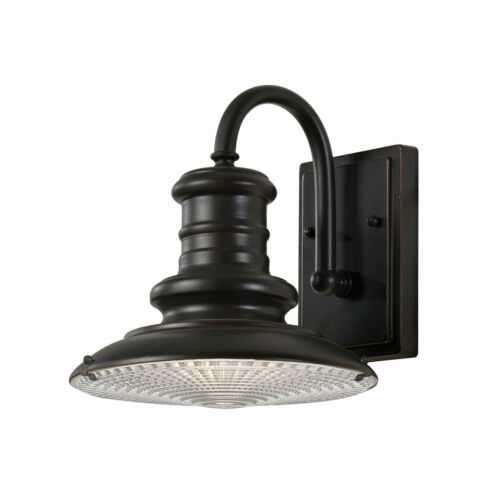 Hoflampe Kingston en bronze ip44 Aluminium Verre robuste e27 Mur Lampe Extérieure
